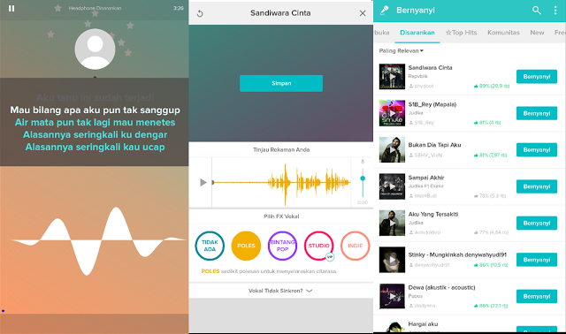 Download smule mod apk terbaru   Sing! Karaoke by Smule v6