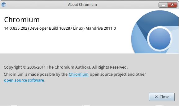 google chrome para linux mandriva