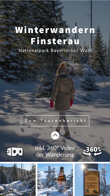 Winterwandern Mauth-Finsterau  Reschbachklause – Siebensteinkopf  Nationalpark Bayerischer Wald 16