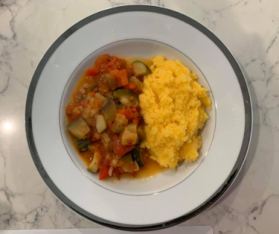 Easy Ratatouille Recipe with Polenta