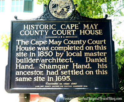 The Historic Cape May County Court House historical marker