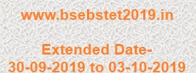Bihar STET 2019 apply starts again from 30-09-2019 to 03-10-2019