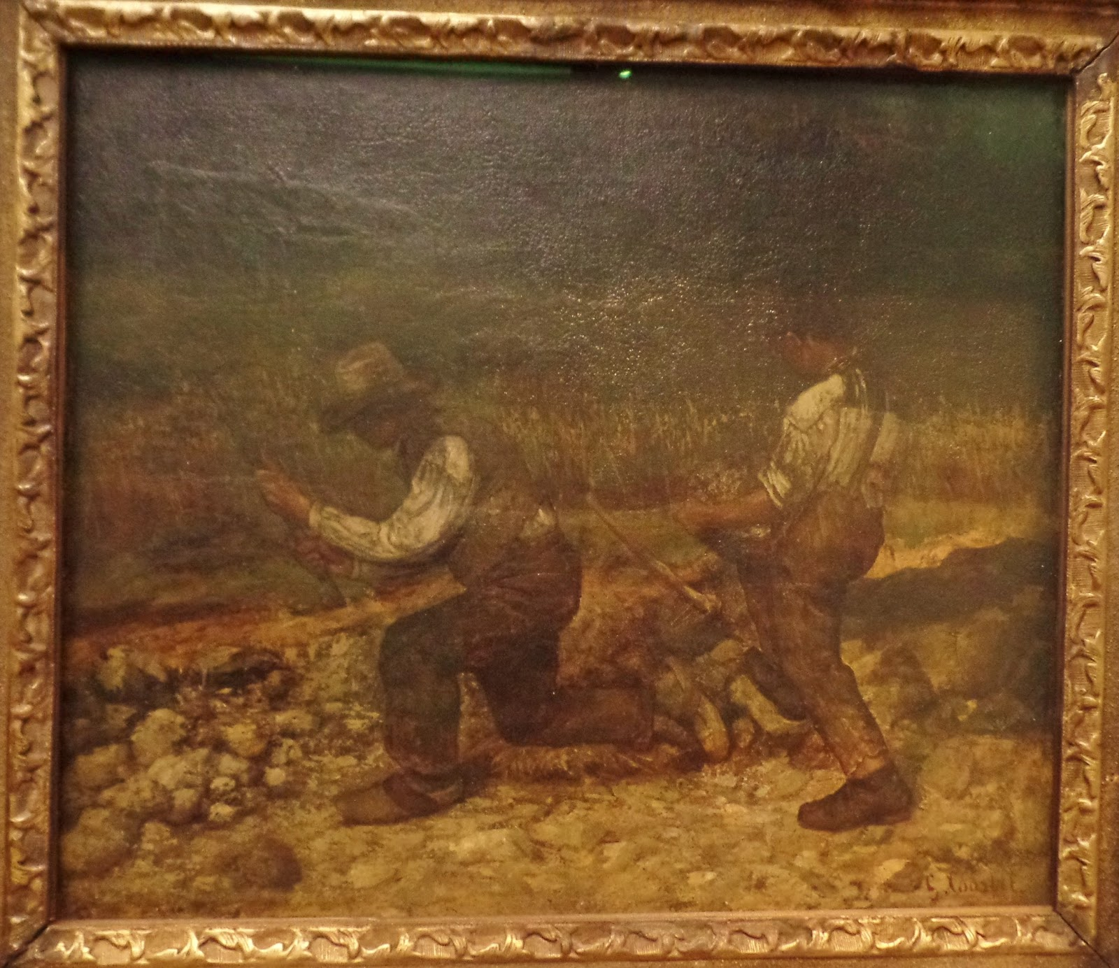 gustave courbet the stone breakers