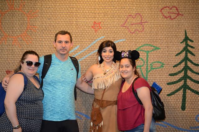 Pocahontas, no Animal Kingdom