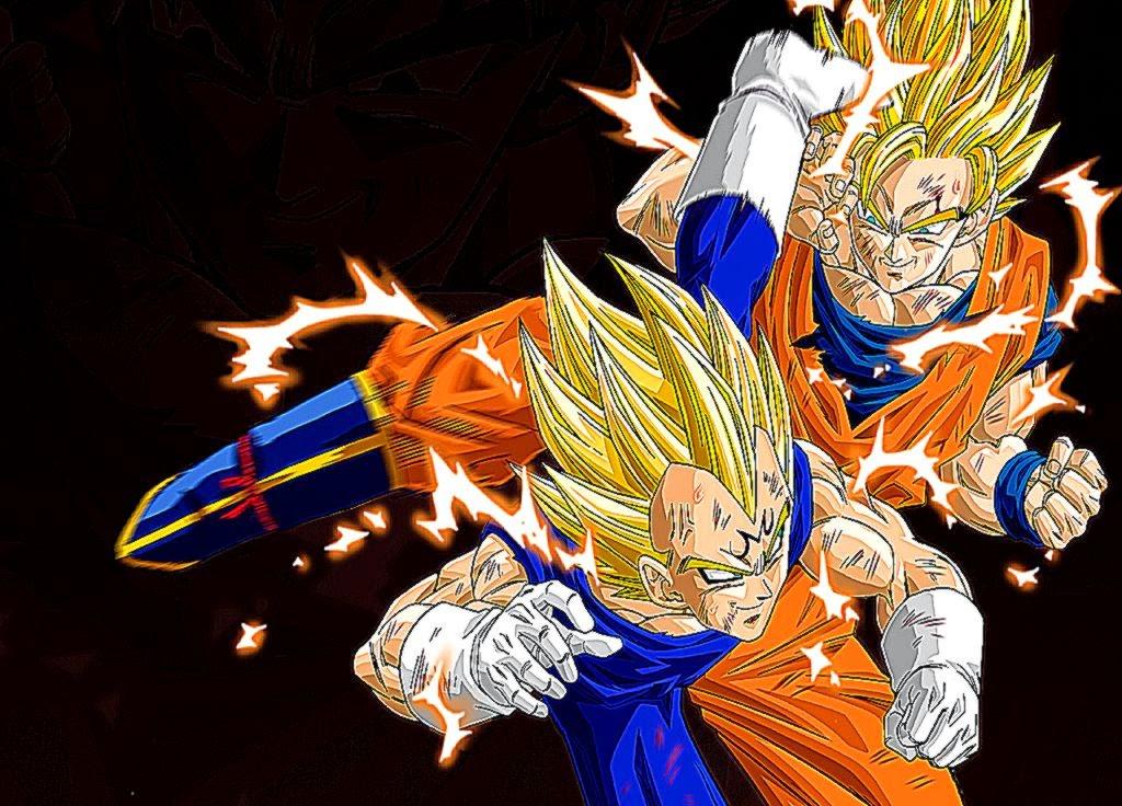 Vegeta Goku Wallpaper Full Super Saiyan | Best HD Wallpapers