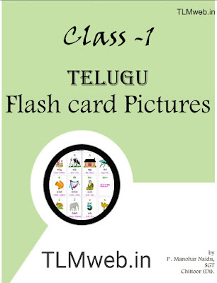 TLMweb®1st class Telugu flash cards -1