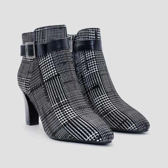 Giày boot nữ Aokang màu Xám