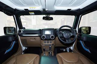 Interior Mobil Wrangler