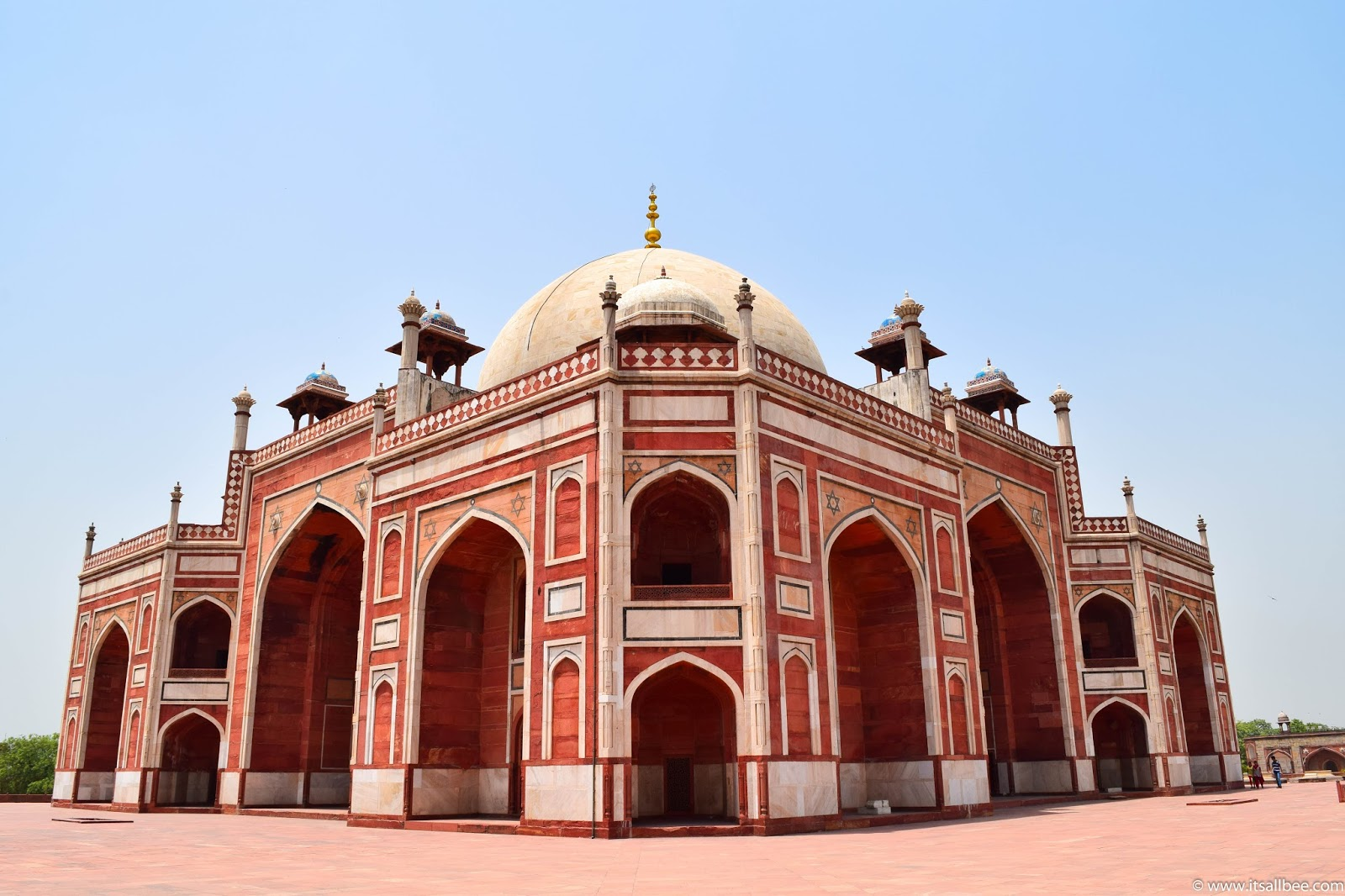 India - places to visit in New Delhi - Humayun's Tomb