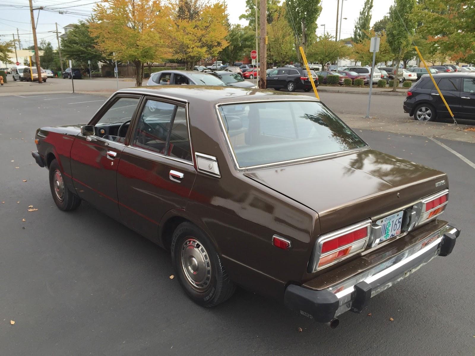 old parked cars 1978 datsun 510. Black Bedroom Furniture Sets. Home Design Ideas