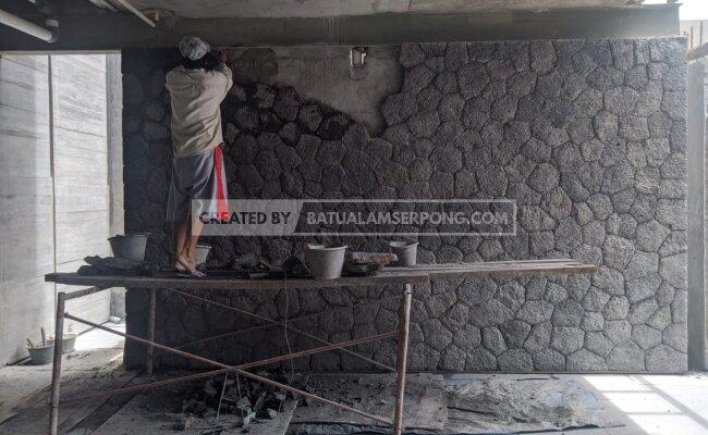 pemasangan batu curi