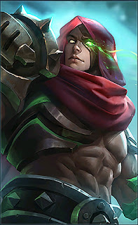 Aldous Red Mantle Heroes Fighter of Skins Old