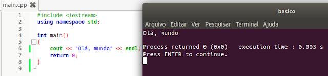 Como compilar um programa em C++