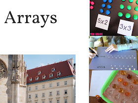 Arrays are a great way to help students understand multiplication facts