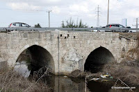 Jisr Jindas, a.k.a. Baybars Bridge, was built in 1273 C.E