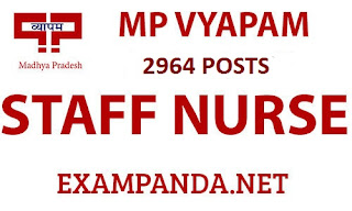 MP VYAPAM 2964 ANM Nurses, Pharmacist, Lab Technician and More: Last Date 13th March,2017