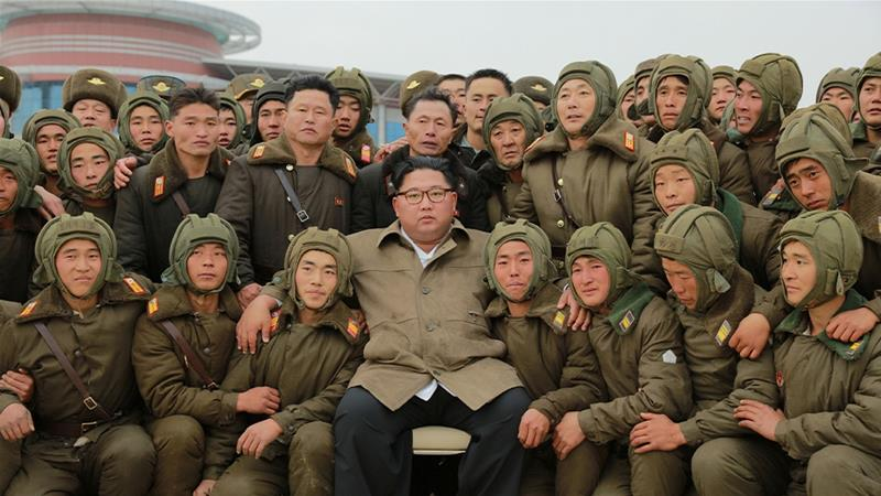 Kim Jong Un watches air drills after US, South Korea delay theirs