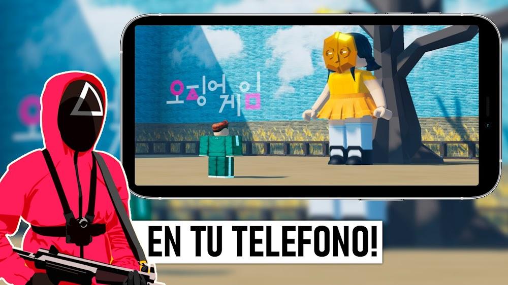 Instalar EL JUEGO DEL CALAMAR para Teléfono