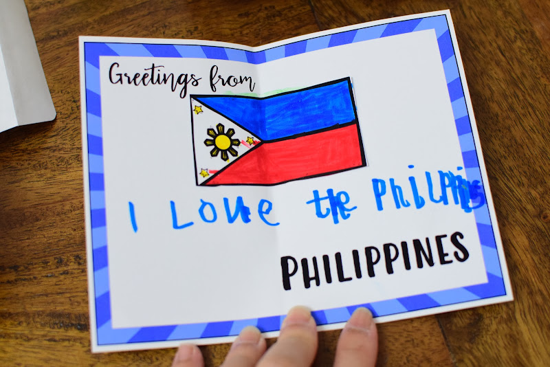 Country Study Philippines: Postcards