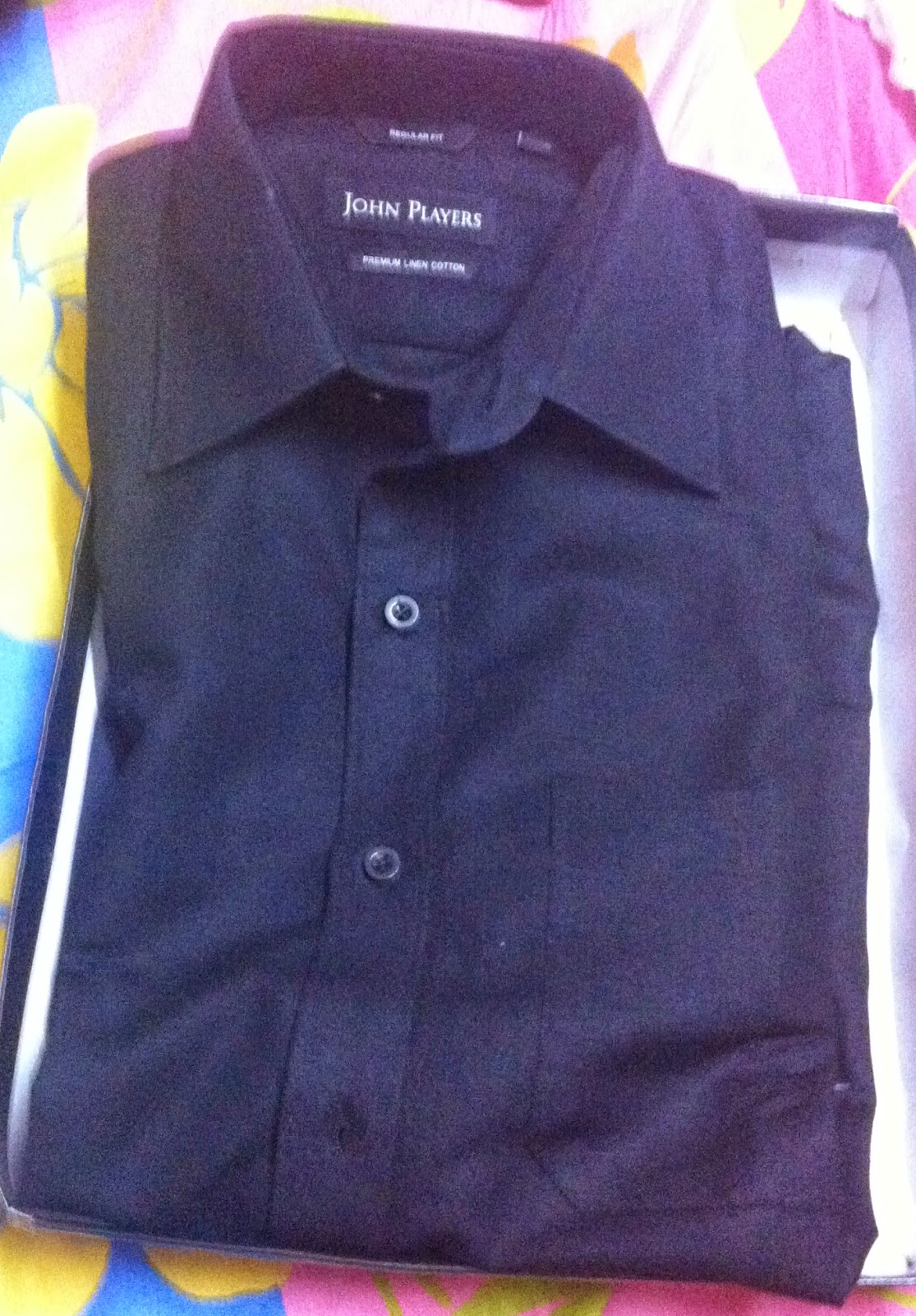 Formal black shirt from Jabong