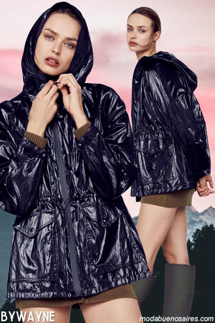 Moda en ropa de mujer camperas invierno 20221