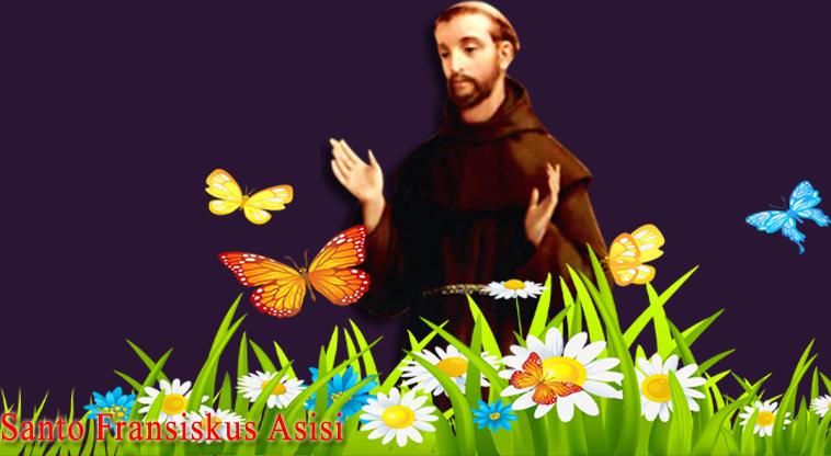 gambar dan doa santo fransikus asisi