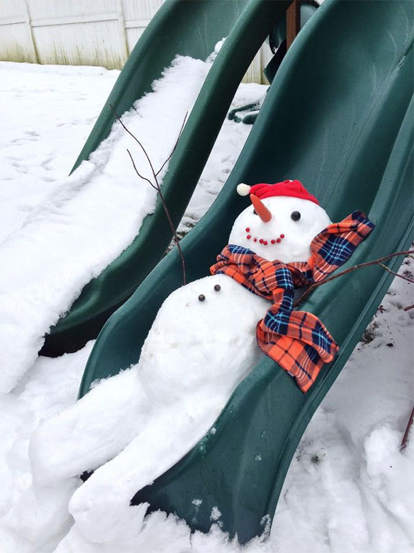 30 Of The Most Creative Snowmen You've Ever Seen