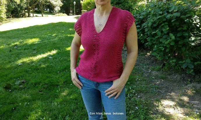 Con hilos, lanas y botones: Aiko Sleeveless Top
