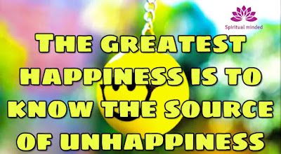 Source of happiness quote