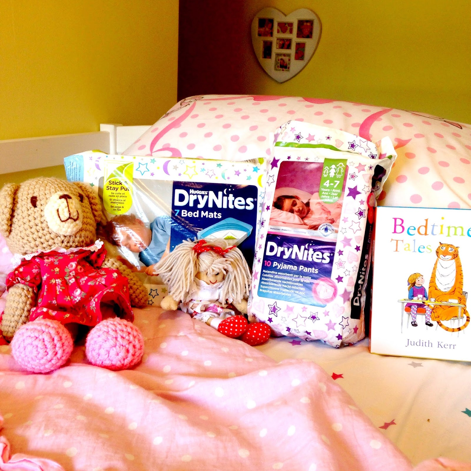 Huggies Drynites Bed Mats Fingers Crossed For A Drynite Brummymummyof2