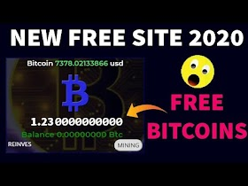 New Free Bitcoin Mining site 2020 Rentmining.net Earn free bitcoin 2020