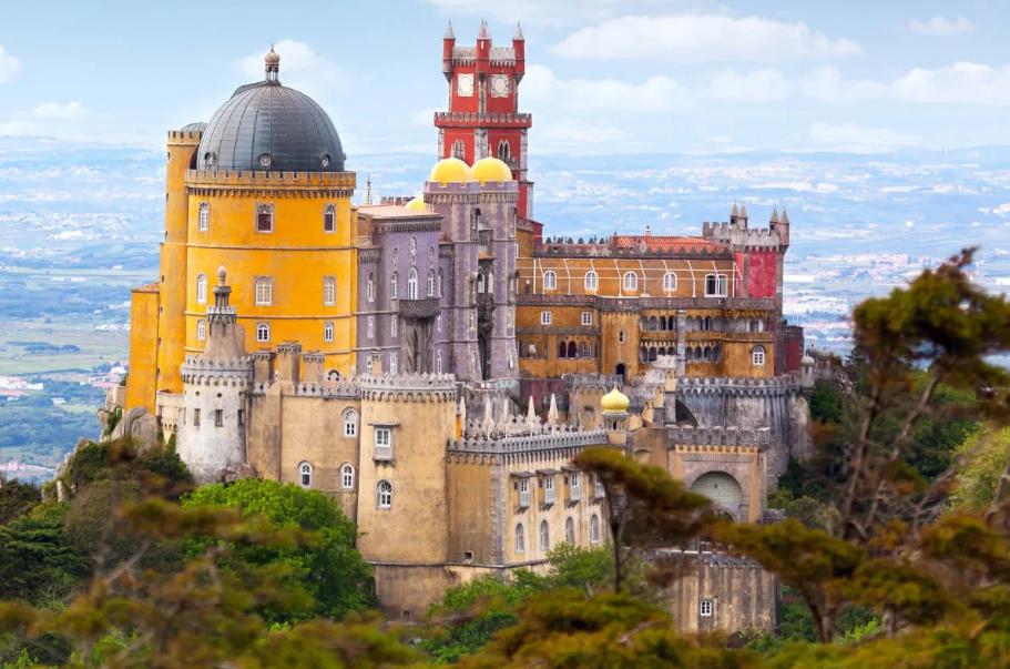 palacio-da-pena kastil megah bersejarah portugal