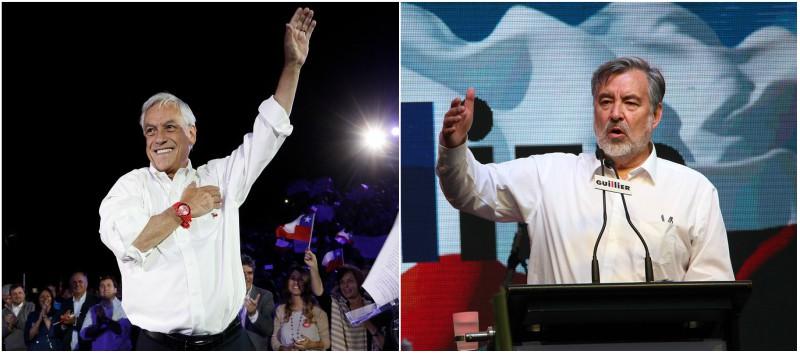 El expresidente y el candidato del oficialismo disputarán la silla de La Moneda