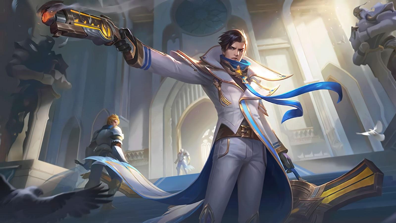 Wallpaper Granger Lightborn Overrider Skin Mobile Legends HD for PC