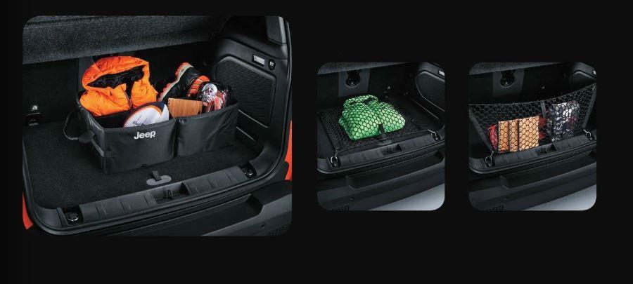 Bagagliaio Jeep Renegade: capacità volumetrica in litri