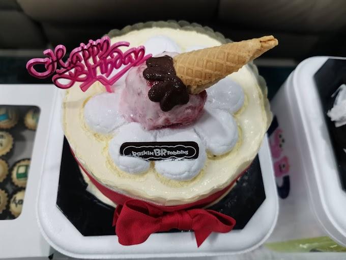 Sambut Birthday Dengan Kek Aiskrim Baskin Robbins