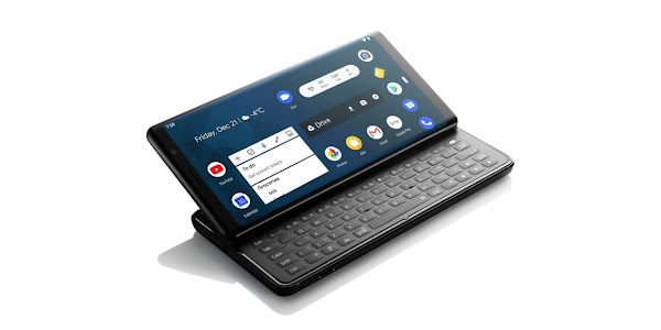 This modern Android smartphone has a full-size slide-out keyboard and costs $649