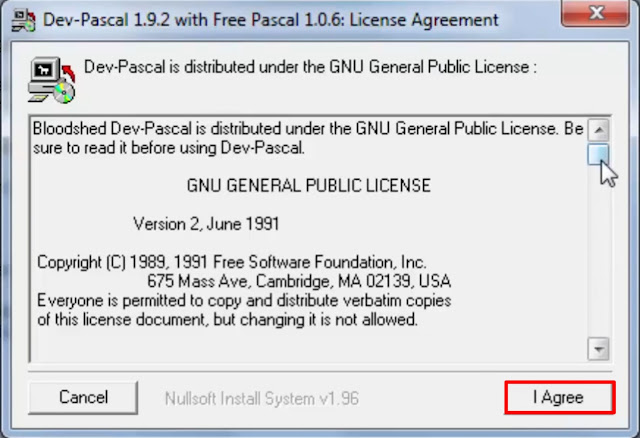 Dev-Pascal download and installation tutorial for Windows 10