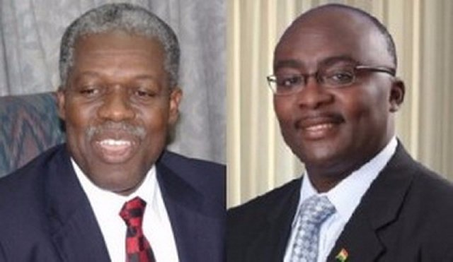 Now answer your 170 campaign 'questions' – Amissah-Arthur to Bawumia