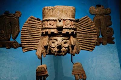 Tlaloc, il dio della pioggia era il secondo inquilino di Balankanchè