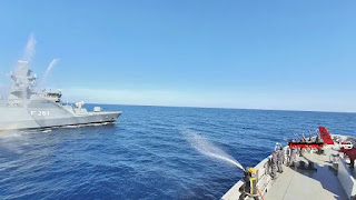 KRI Sultan Hasanuddin-366 Latihan Bersama Kapal Perang Turki Dan Jerman Di Laut Mediterania