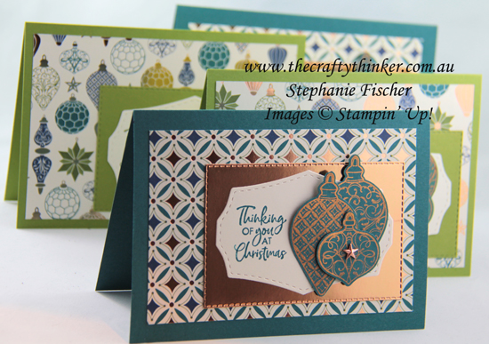 #thecraftythinker #stampinup #christmascard #brightlygleaming #stamparatus #cardmaking , Christmas Gleaming bundle, Stamparatus, Christmas card, Stampin' Up Demonstrator, Stephanie Fischer, Sydney NSW