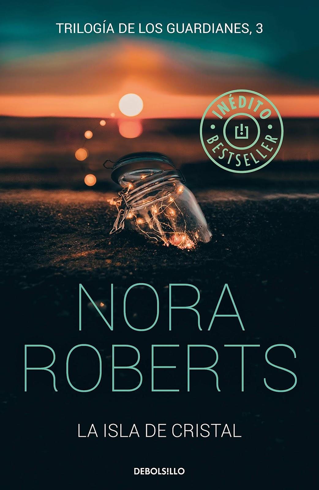 La isla de cristal de Nora Roberts