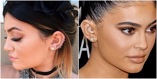 tendência de piercing para 2019