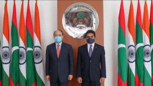 Four Agreements signed between India and Maldives