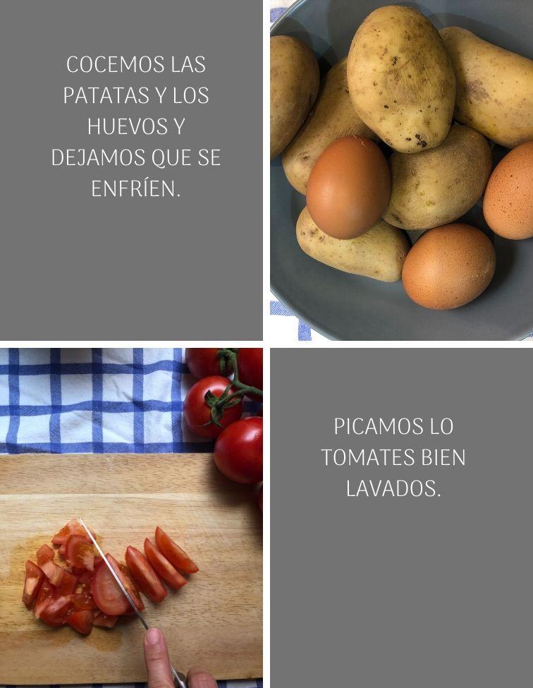 preparación-de-ensalada-campera