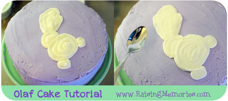How to Make Your Own Frozen Olaf Birthday Cake