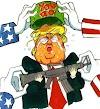Trump sendiri akan turun berperang?