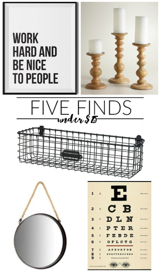 Five finds under $25