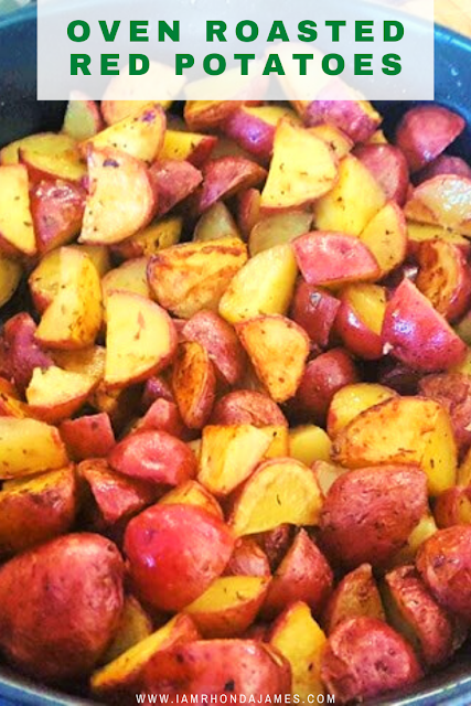 Oven Roasted Red Pototates
